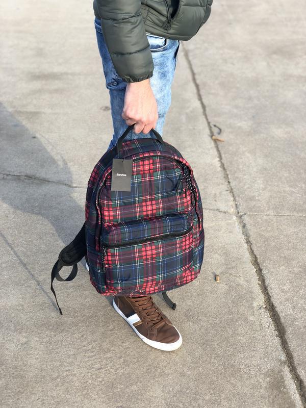 Мужской рюкзак bershka/чоловічий рюкзак - Фото 7