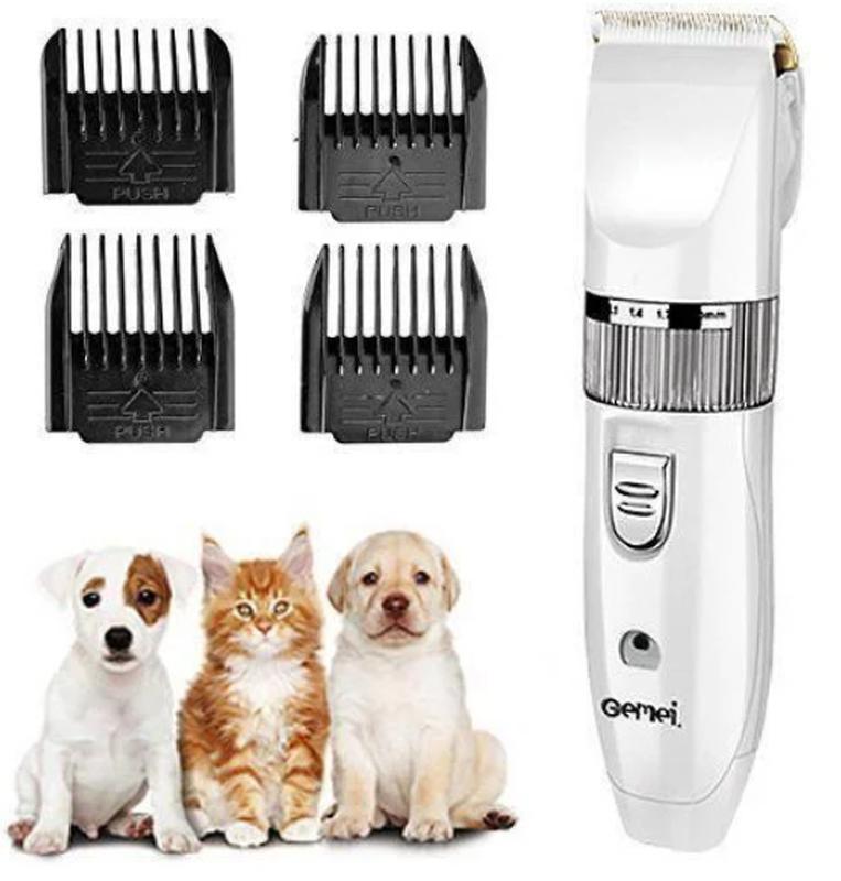Профессиональная машинка для стрижки животных Gemei GM-634 USB - Фото 4