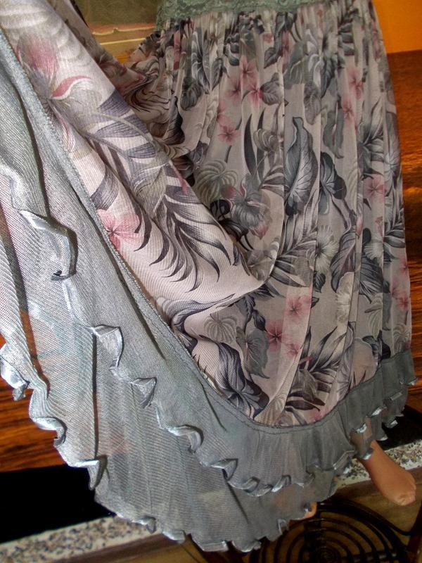 Юбка 46-48 размер - женственный стиль