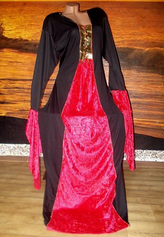 "Красивое маскарадное платье бренд rubie""s  сша - до 58 размера"
