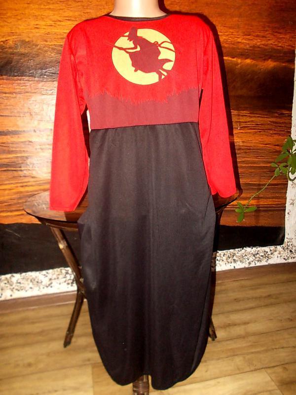 Маскарадное платье волшебницы 3-5 лет цена снижена +колпак в п...