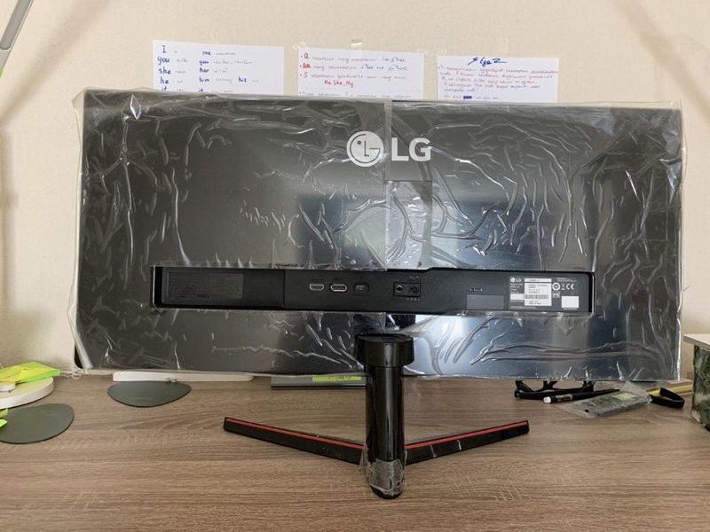 Монитор LG 29um69g на запчасти (битая матрица) - Фото 2