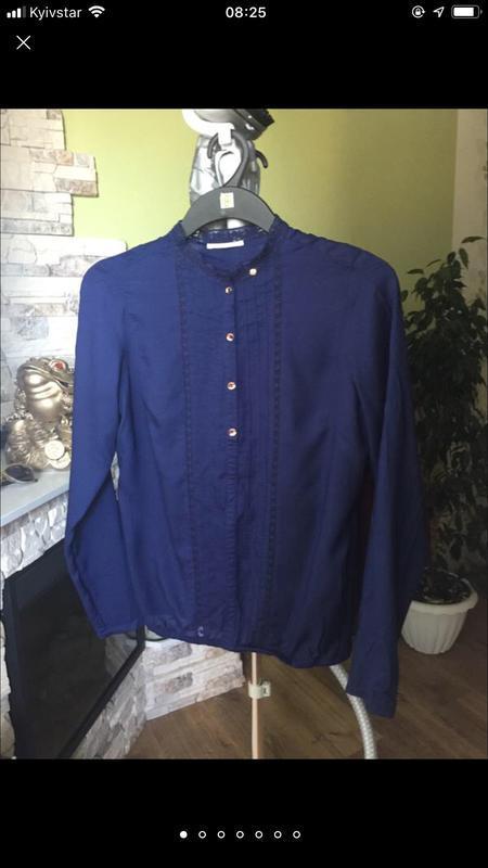 Лаконічна брендова блуза