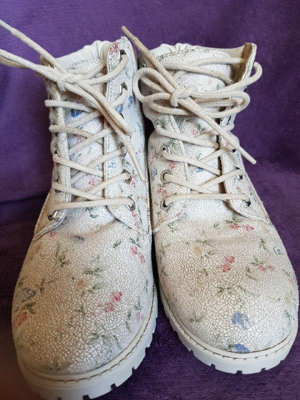 Красивые ботинки демисезонные, удобная колодка Primark - Фото 2