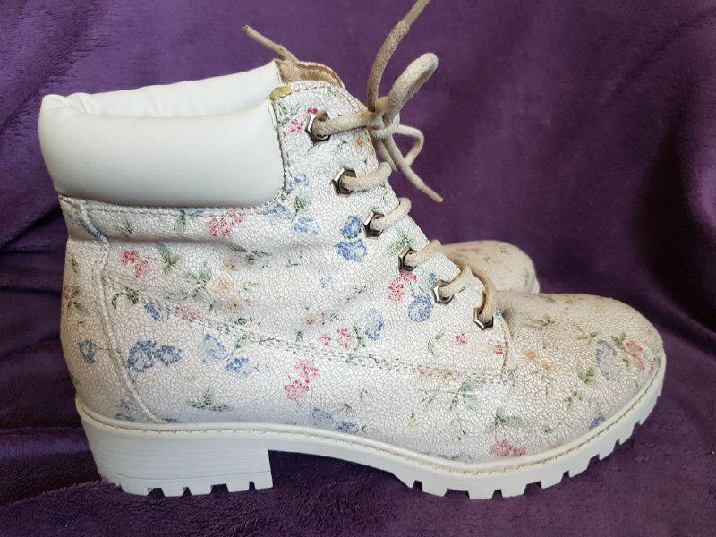 Красивые ботинки демисезонные, удобная колодка Primark - Фото 3
