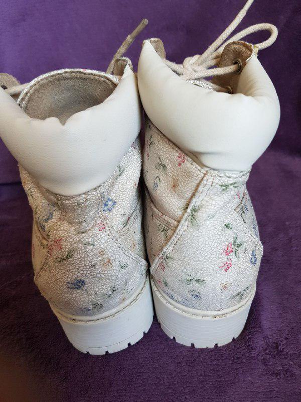Красивые ботинки демисезонные, удобная колодка Primark - Фото 4