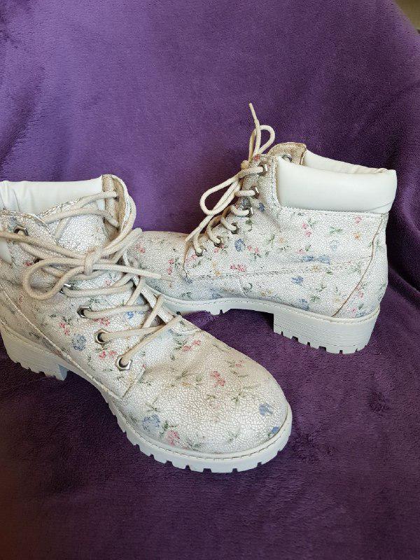 Красивые ботинки демисезонные, удобная колодка Primark - Фото 5