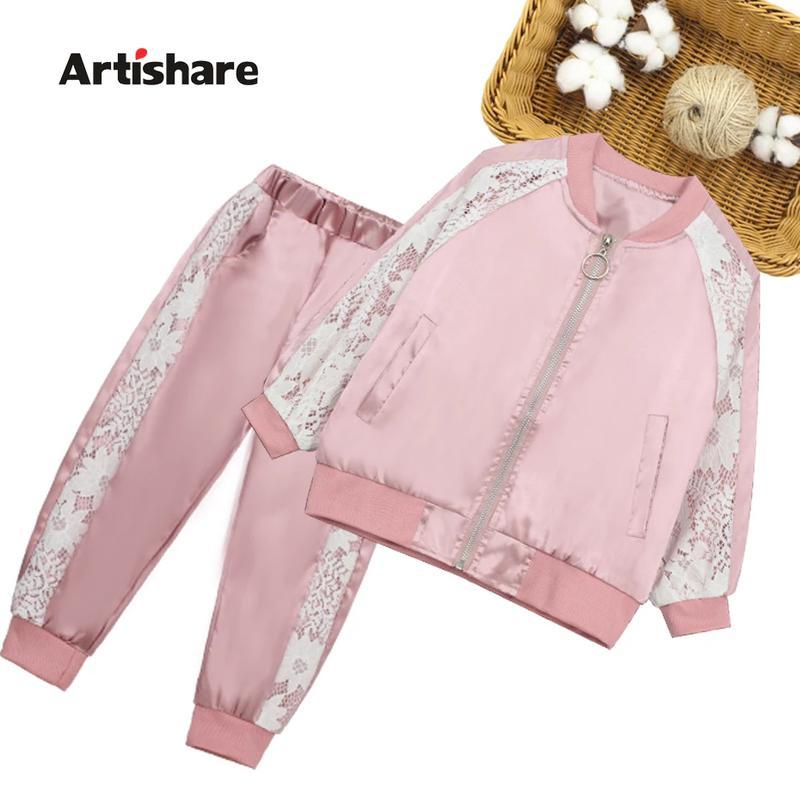 Стильный детский костюм на девочку, 7-8 лет, розовый, новые