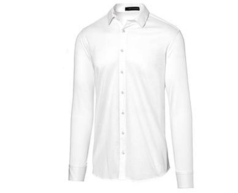 Рубашка из мерсеризованного хлопка р. 39 от дизайнера steffen ...
