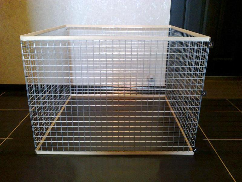 Вольер манеж клетка для маленьких собак щенков котят кроликов и т - Фото 2