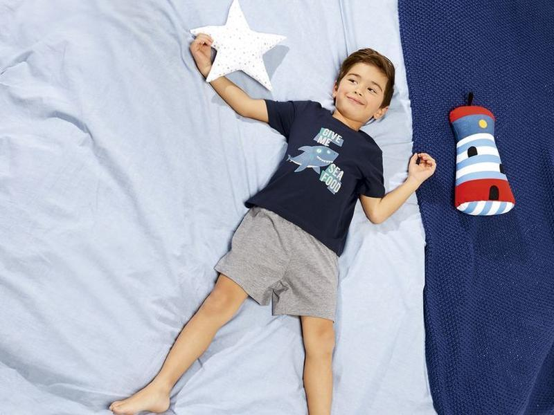 Пижама костюм шорты футболка р. 86 92 lupilu германия