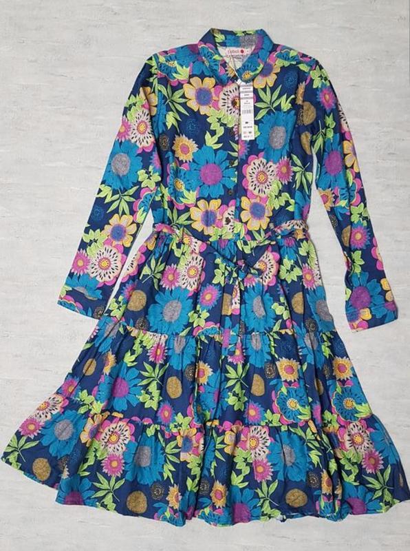 Стильное платье миди boboli для девочки