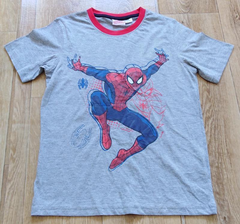 Футболка для мальчика р. 134 140 от disney с spider man спайде...