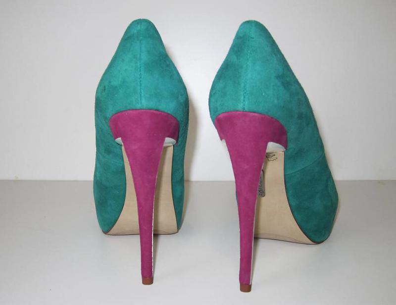 Летние замшевые туфли nine west - Фото 4
