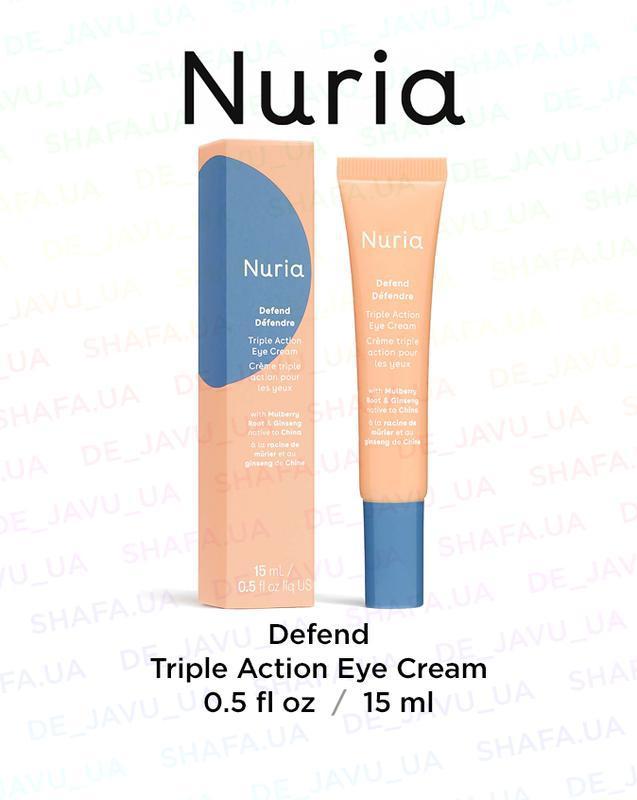Крем для глаз тройного действия nuria defend triple action eye...