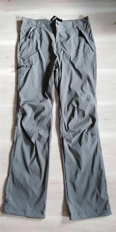 Треккинговые легкие брюки штаны бриджи crivit р. 50 xl германи... - Фото 2