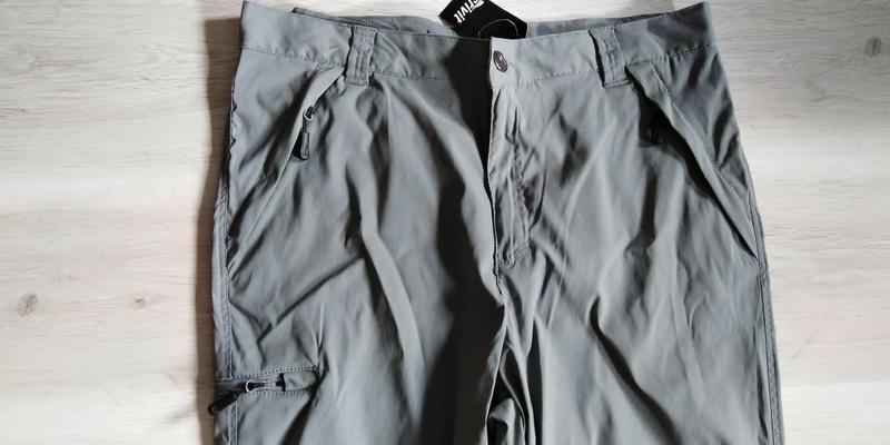 Треккинговые легкие брюки штаны бриджи crivit р. 50 xl германи... - Фото 6