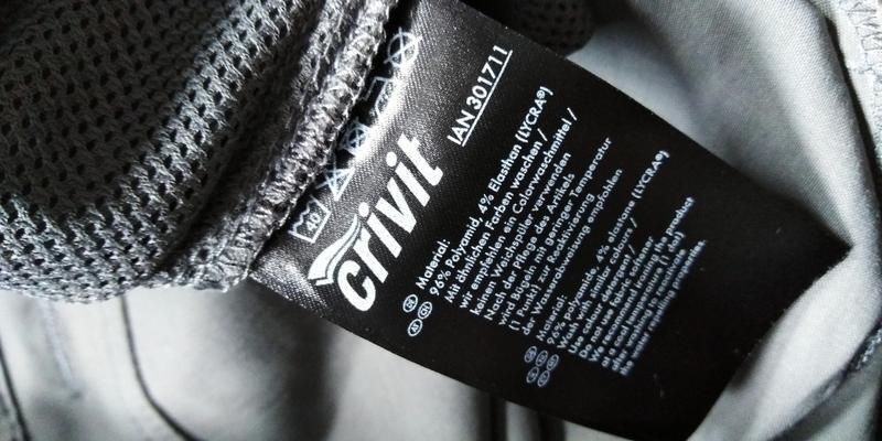 Треккинговые легкие брюки штаны бриджи crivit р. 50 xl германи... - Фото 9