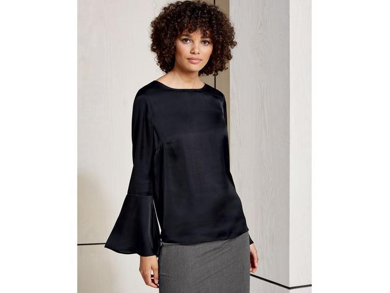 Стильная легкая блуза р. евро 36 s esmara германия
