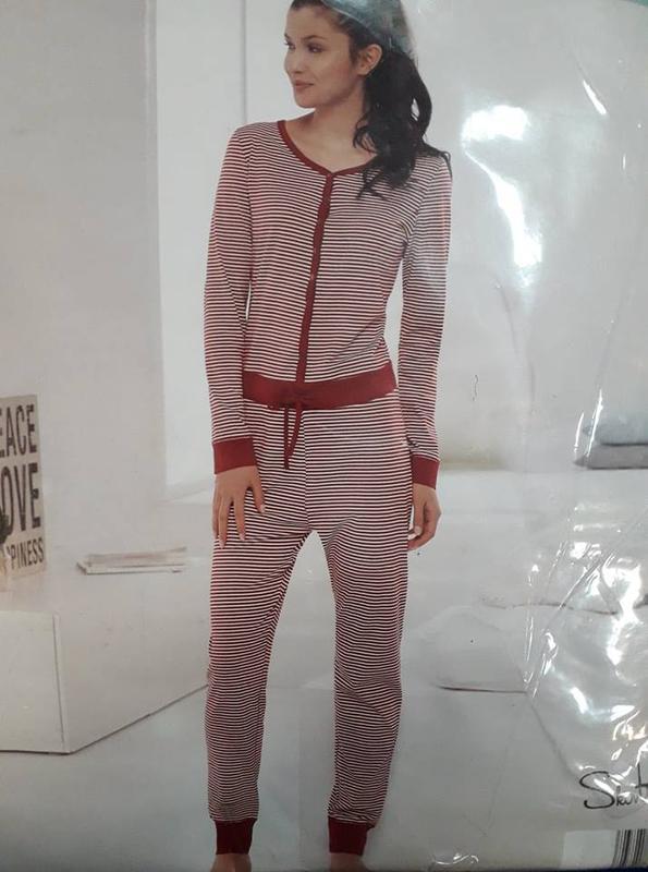 Домашний женский комбинезон, пижама слип кигуруми р.евро 36 38...