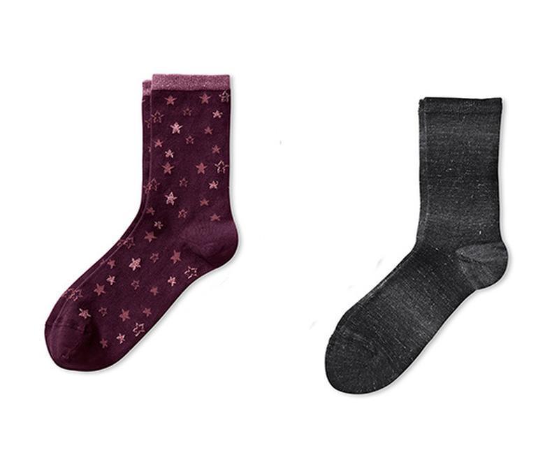 Набор плотных носков р. 39-42 tcm tchibo германия звёзды