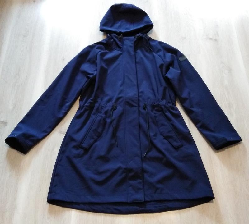 Куртка пальто софтшел softshell р. 48 50 xl xxl tcm tchibo гер... - Фото 4