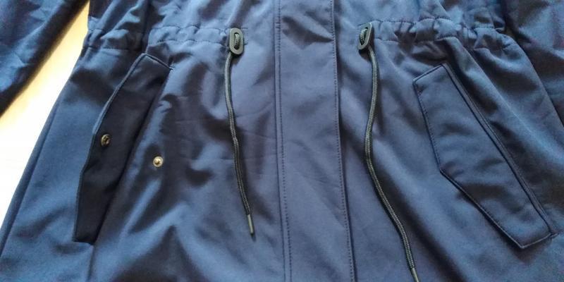 Куртка пальто софтшел softshell р. 48 50 xl xxl tcm tchibo гер... - Фото 8