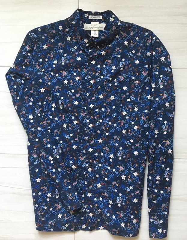Мужская джинсовая рубашка - Фото 2
