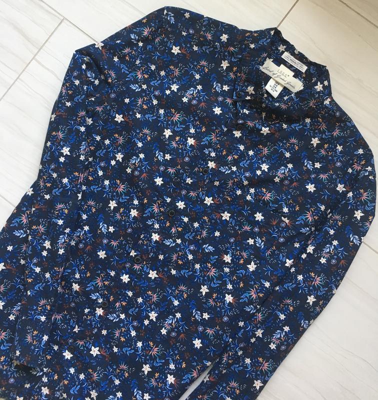 Мужская джинсовая рубашка - Фото 3