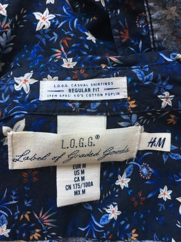 Мужская джинсовая рубашка - Фото 4