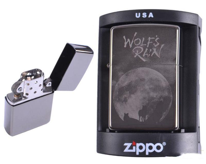 Зажигалка бензиновая Zippo (Wolfs Rain)