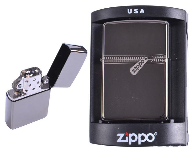 Зажигалка бензиновая Zippo (Молния)