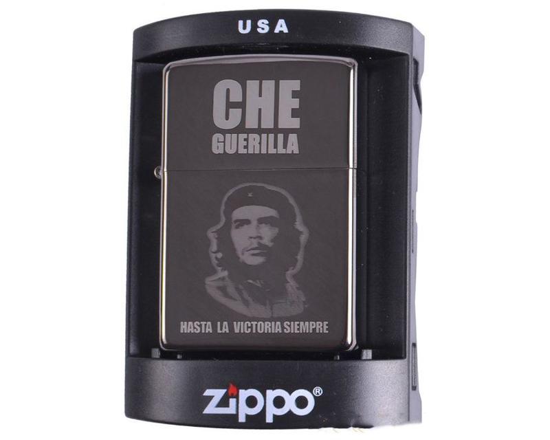Зажигалка бензиновая Zippo (Che Guerilla)