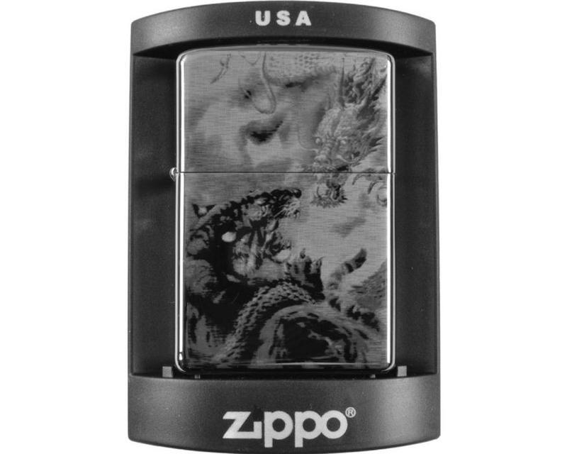 Зажигалка бензиновая Zippo (Dragons)