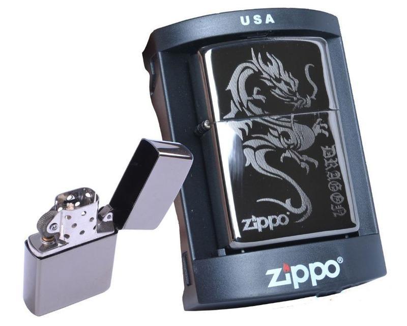 Зажигалка бензиновая Zippo (Dragon)
