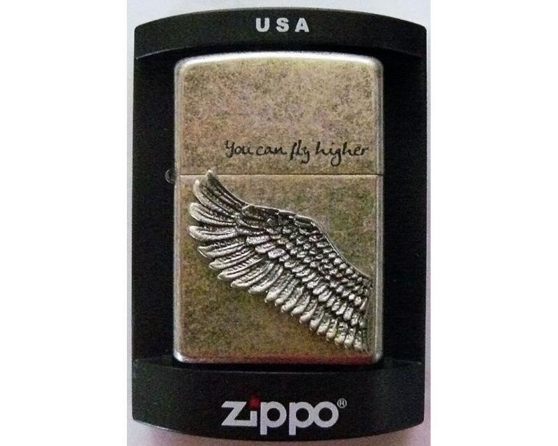 Зажигалка Бензиновая Zippo (Wing)