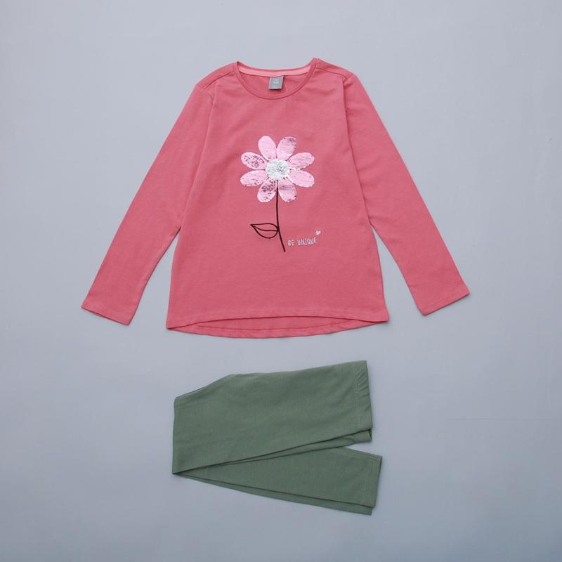 Комплект для девочки реглан - туника и лосины  pepco