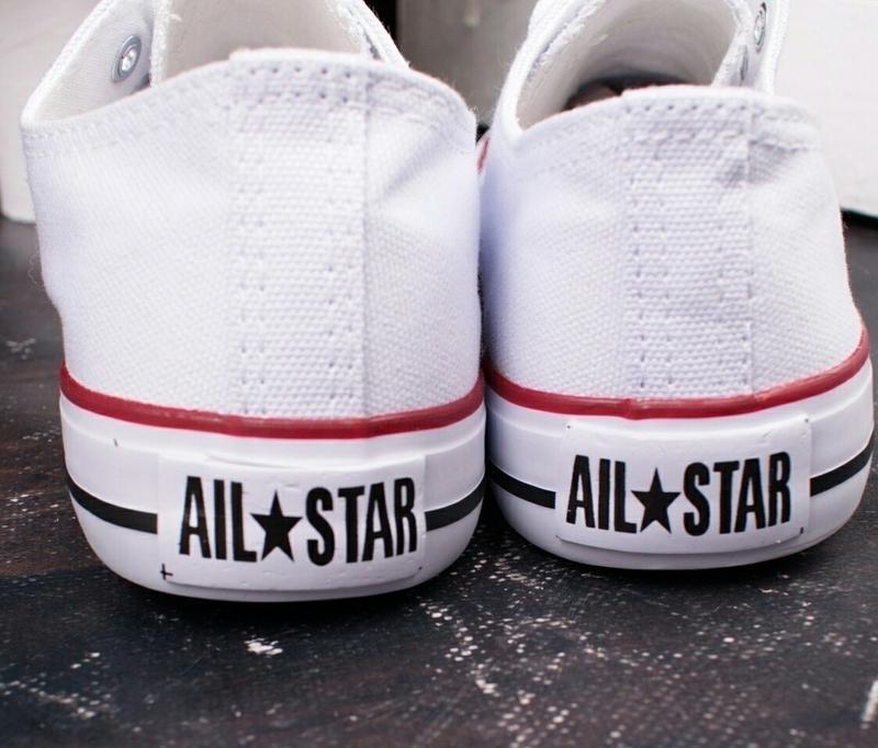 """Білі кеди """"all star"""" - Фото 8"""