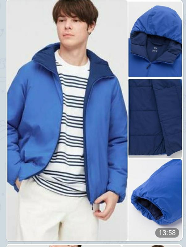 Куртка утепленная uniqlo xxxl