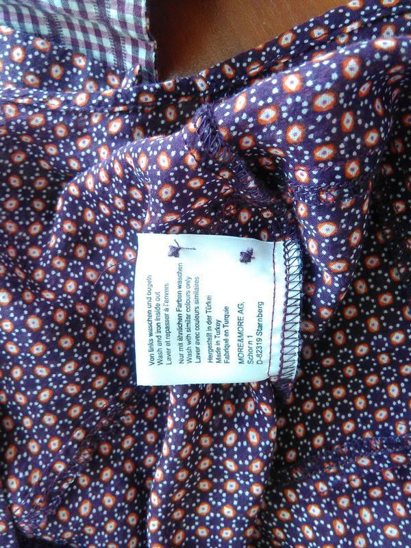 Легкая блуза классика more&more - Фото 4