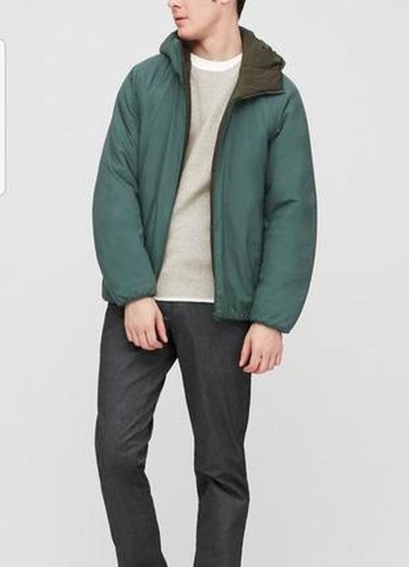Куртка утепленная uniqlo xxl xxxl