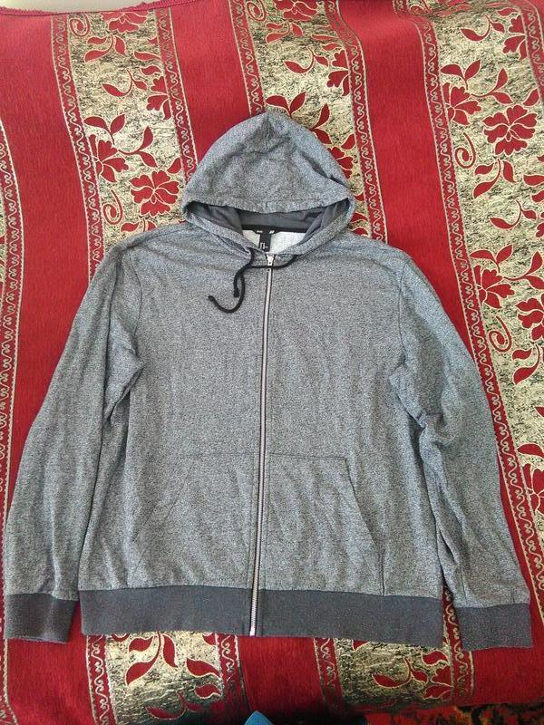 Курточка на молнии с капюшоном h&m