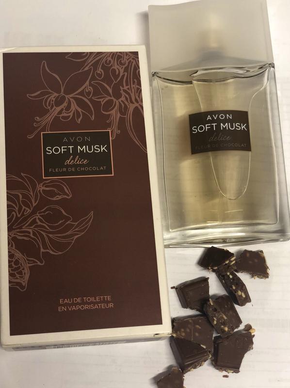 Туалетная вода soft musk delice fleur de chocolate 50 ml