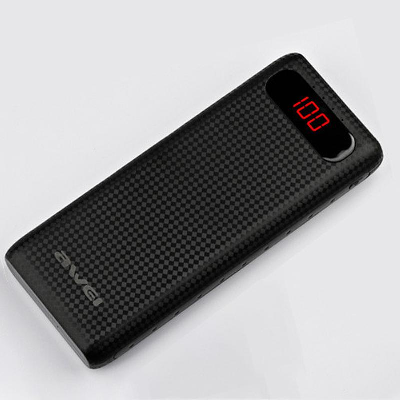 Внешний аккумулятор с LCD-дисплеем Power Bank AWEI P70K. NEW. - Фото 6