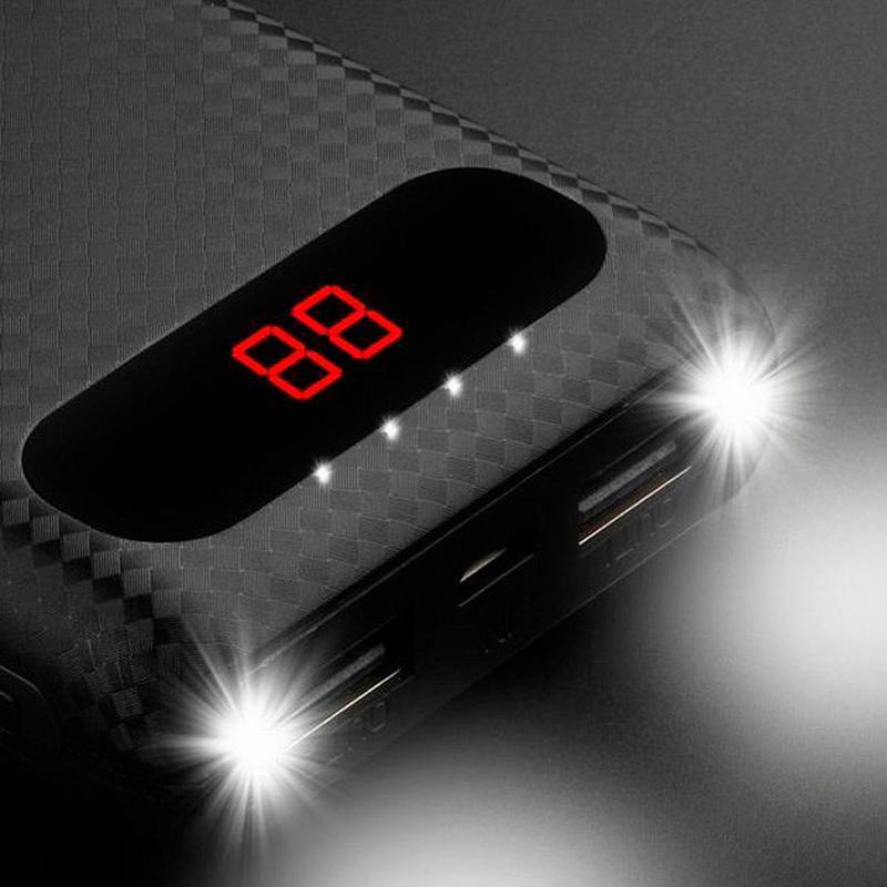 Внешний аккумулятор с LCD-дисплеем Power Bank AWEI P70K. NEW.