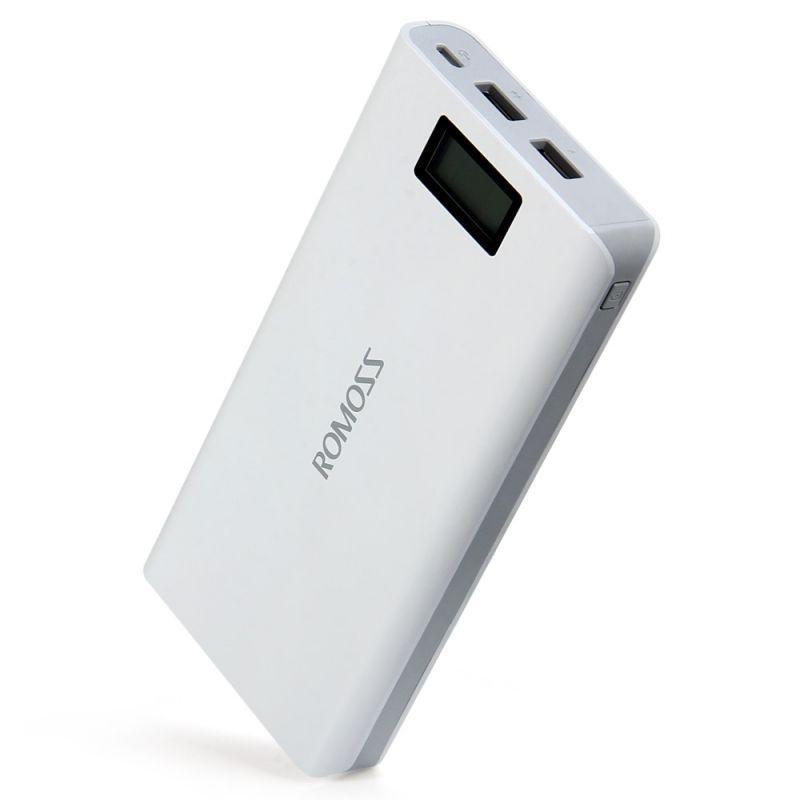 Power Bank Romoss LCD 50000mAh Sense 6 PLUS 2USB. Лучшая цена - Фото 3