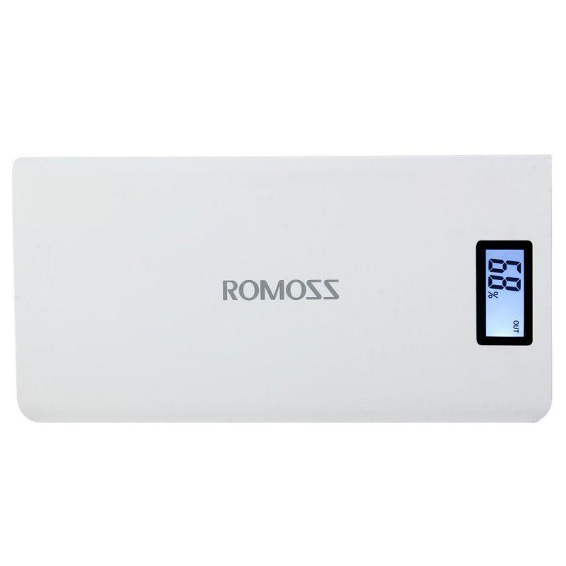 Power Bank Romoss LCD 50000mAh Sense 6 PLUS 2USB. Лучшая цена - Фото 2