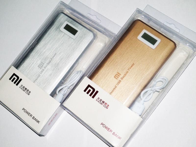 Портативные зарядные PowerBank Xlaomi Mi 2 USB + Экран 28800mAh - Фото 3