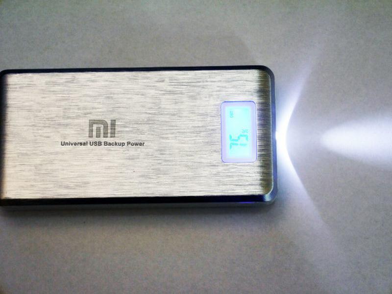 Портативные зарядные PowerBank Xlaomi Mi 2 USB + Экран 28800mAh - Фото 5