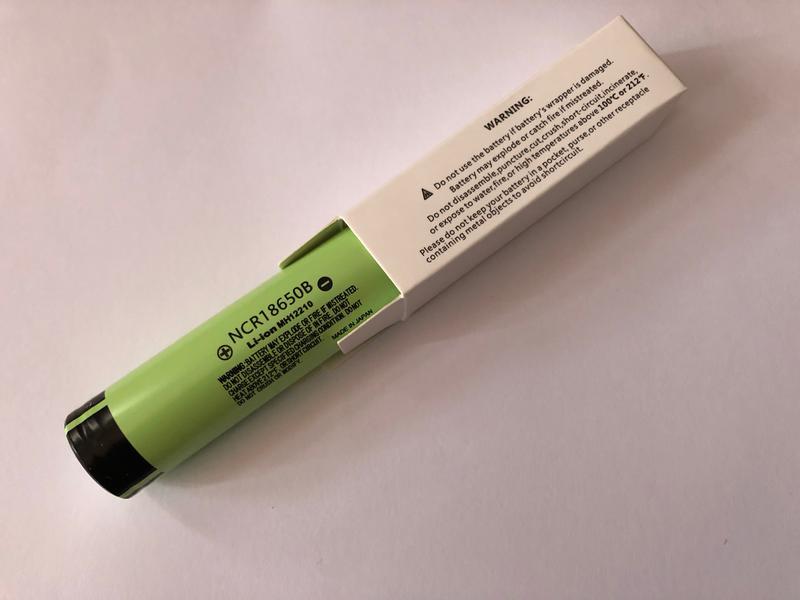Аккумуляторная батарея 3 шт. Panasonic NCR18650B 3.7В 3400 mAh